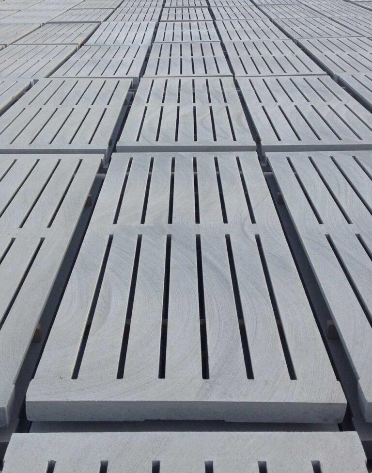 Slat de concreto piso engorda
