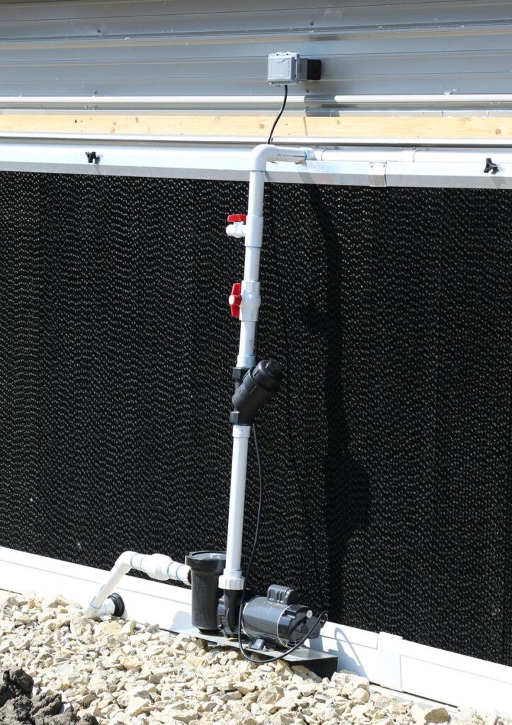 bomba para paredes humedas