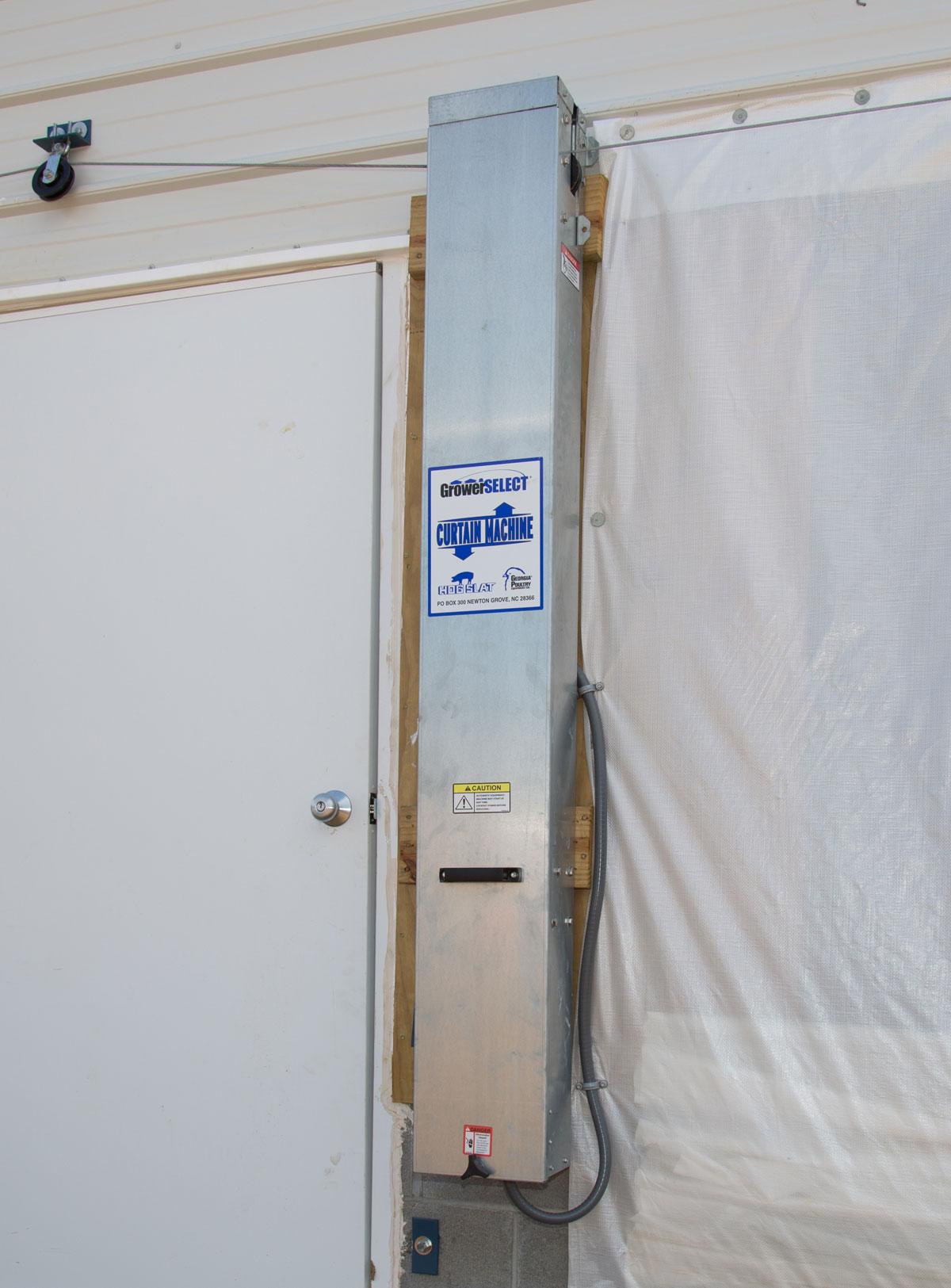 gabinete de cortina montado