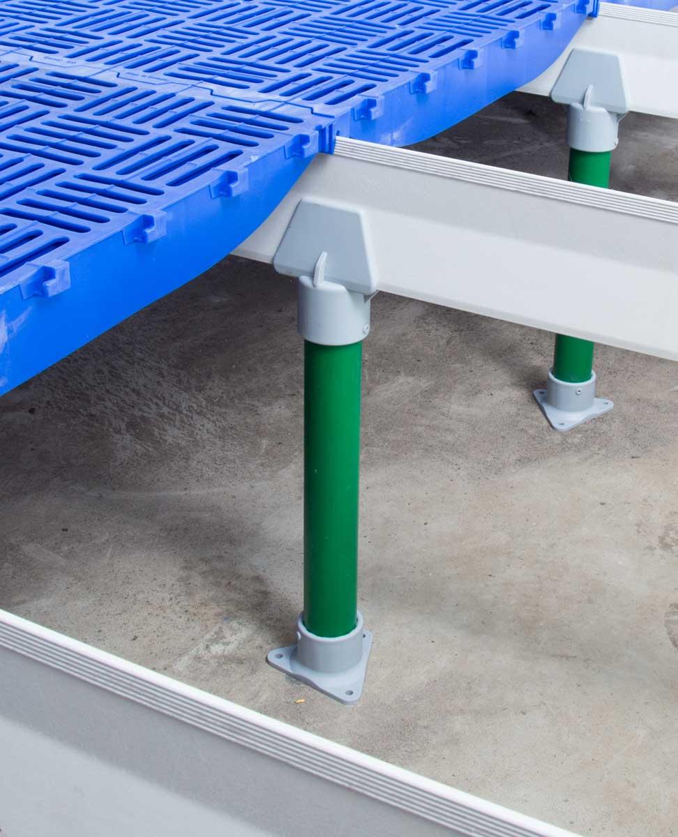 soportes para piso