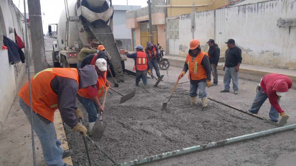 calles concreto hidraulico