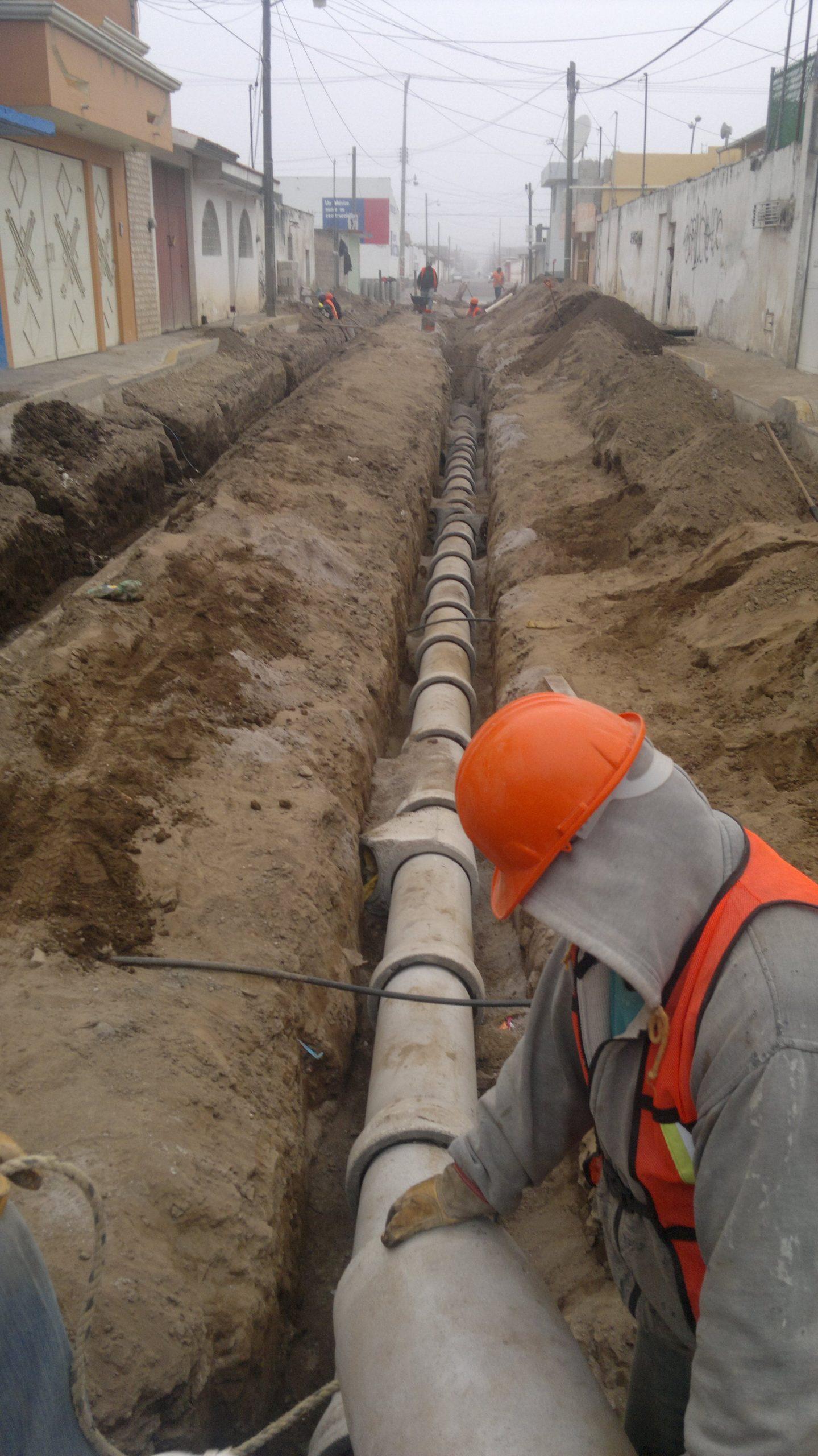 drenaje hidraulico calles