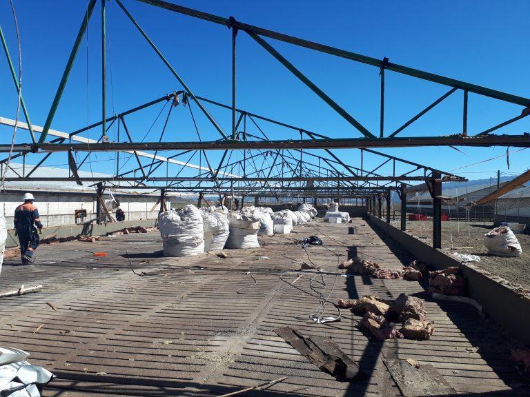 Instalación de madera mantenimiento